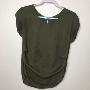 Forrest Green Blouse